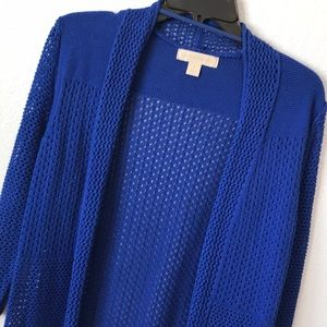 Laura Ashely long blue kimono small